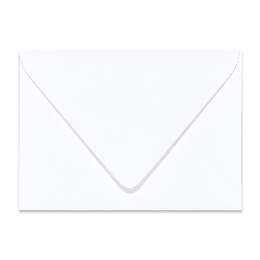 4 Bar Euro Flap 80# Text Mohawk Renewal Hemp Clean White Rough Finish Envelopes Box of 250