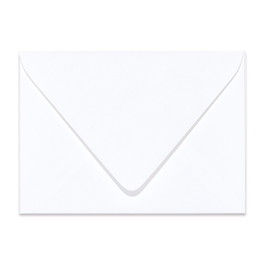 A2 Euro Flap 80# Text Mohawk Renewal Hemp Clean White Rough Finish Envelopes Pack of 50
