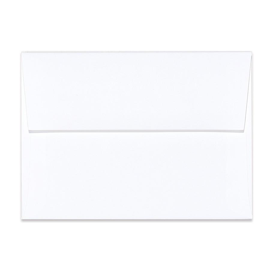 A6 Square Flap 80# Text Mohawk Renewal Hemp Clean White Rough Finish Envelopes Pack of 50