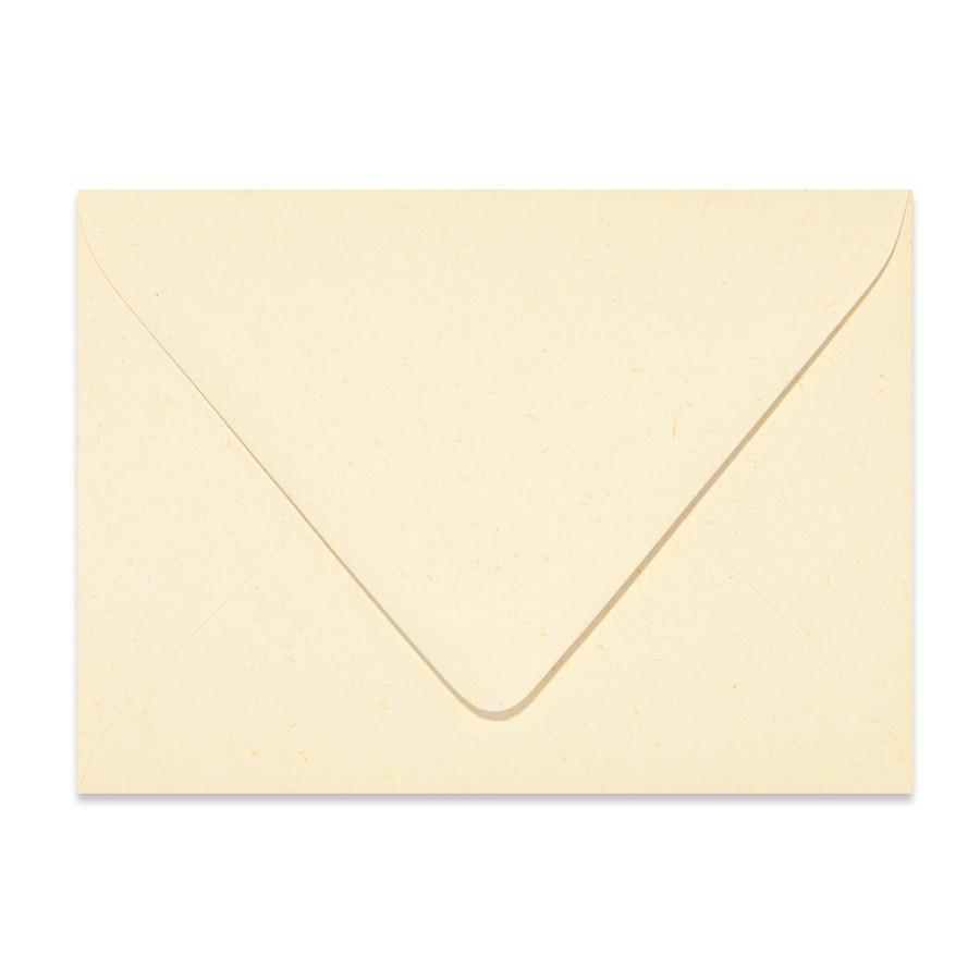 A2 Euro Flap 80# Text Mohawk Renewal Straw Harvest White Rough Finish Envelopes Box of 250