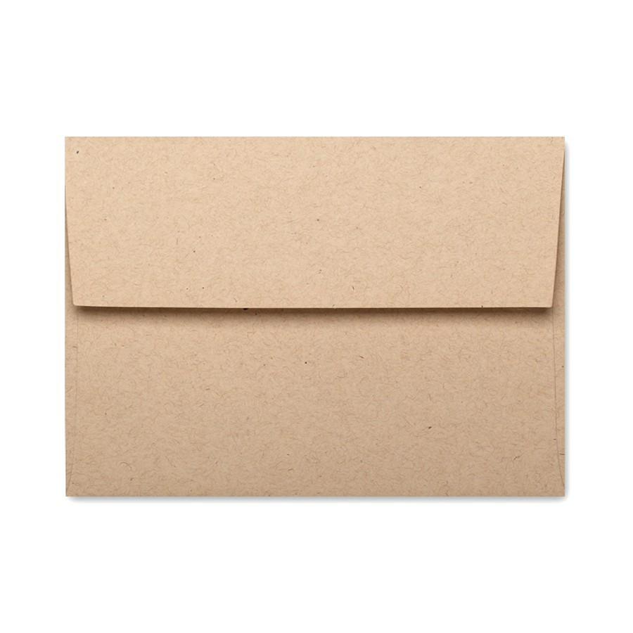 French Speckletone Oatmeal A7 Envelope