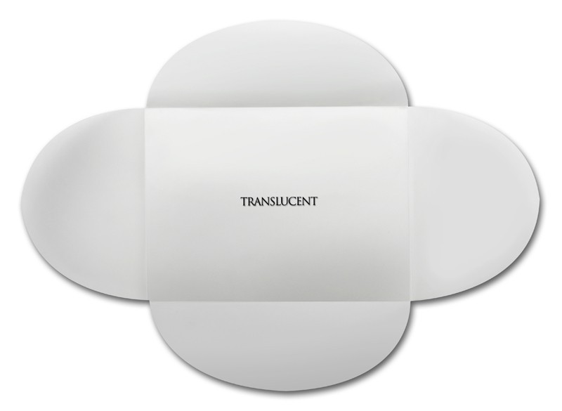 Neenah Clearfold Clear Translucent (frosted) A7 30# Writing Rounded Flap Pouchettes