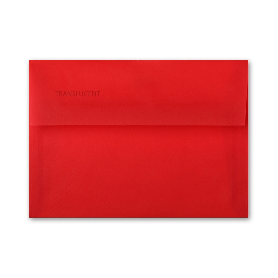 ct chartham translucent primary red a2 30 writing envelopes bulk