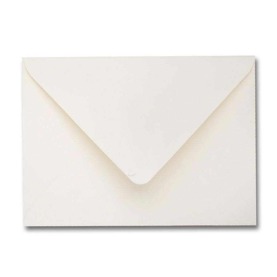 Mohawk Premium Vellum Ecru 4 Bar Euro Flap Envelope