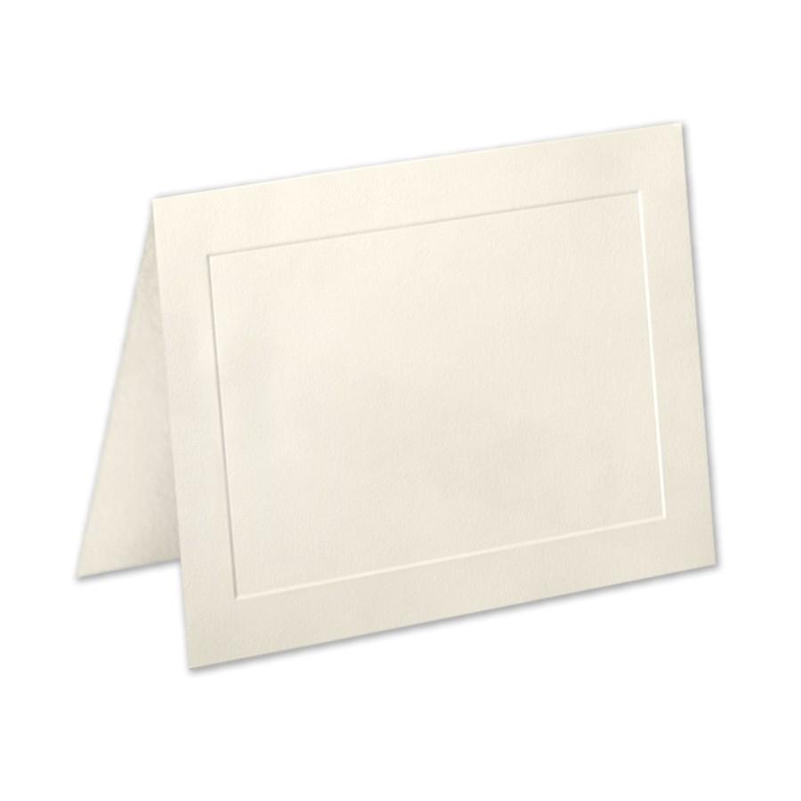 Premium Vellum Ecru A7 Panel Folder