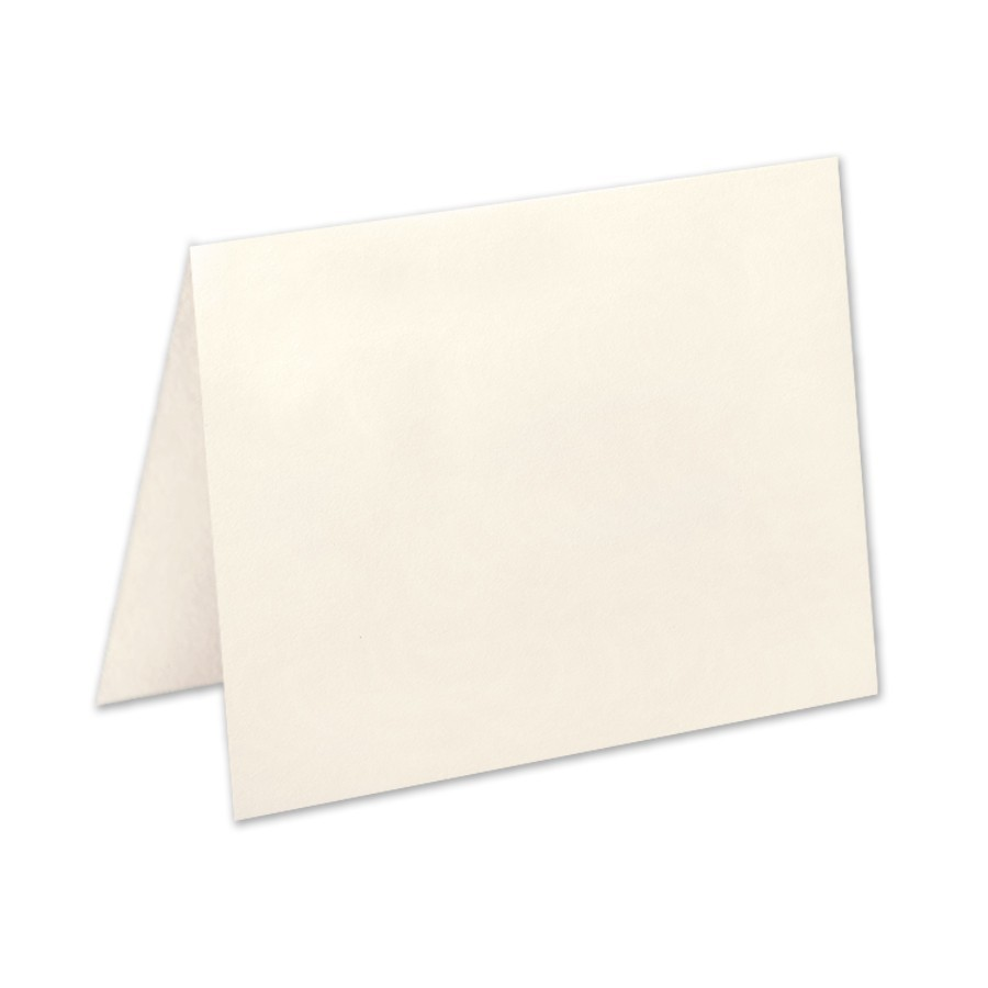 Premium Vellum Ecru Jumbo No Panel Folder