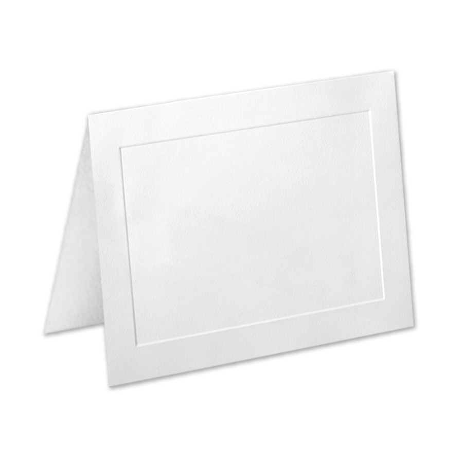 Premium Vellum Ultra White A6 Panel Folder
