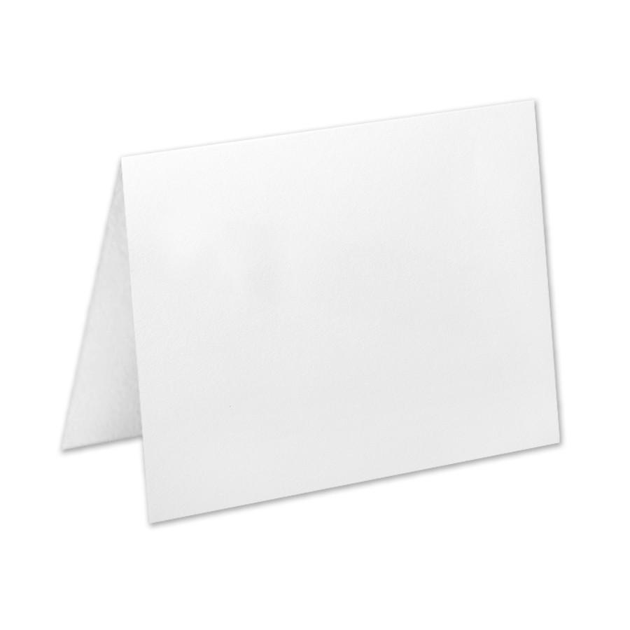 Premium Vellum Ultra White Jumbo No Panel Folder