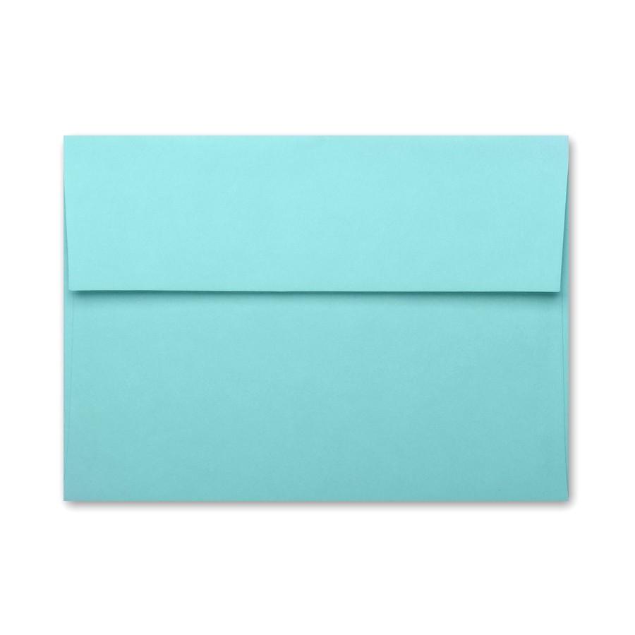 basis aqua a9 70 text envelopes pack of 50