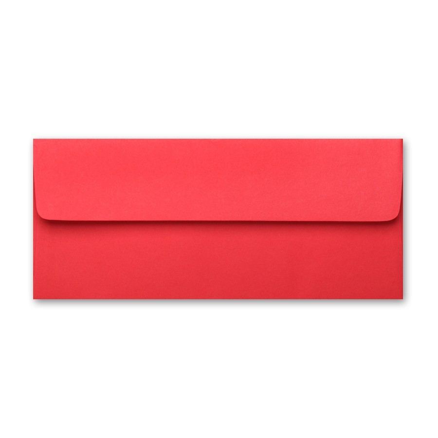 basis red 10 square flap 70 text envelopes pack of 50
