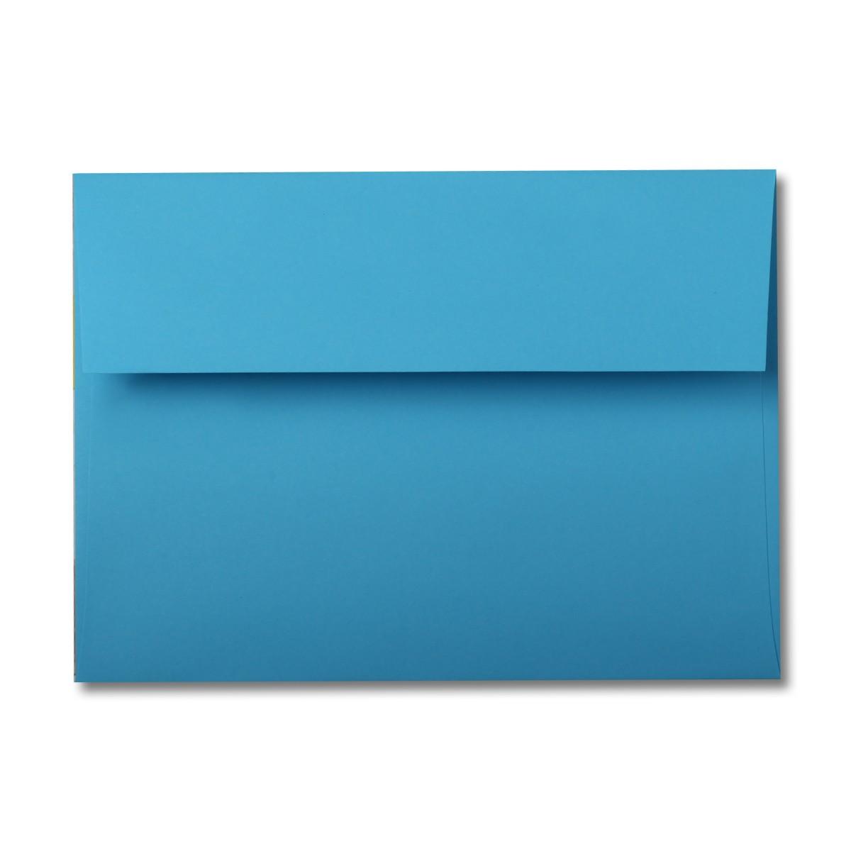 Astrobrights Lunar Blue A7 60# Text Envelopes (5 1/4\