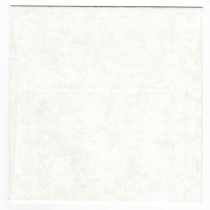 "Cloth Snow 6"" Square Envelopes Bulk Pack of 25"