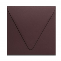 6 1/2 Square Euro Flap Colorplan Claret Envelopes Box of 250