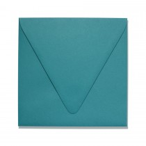 "6 1/2"" Square Euro Flap Colorplan Marrs Green Envelopes Pack of 50"