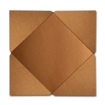 Gruppo Cordenons Stardream Copper 6 1/4 Square 105# Cover Pointed Flap Pouchettes