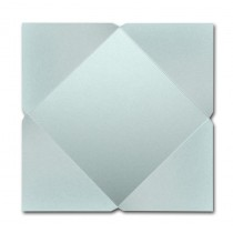 Gruppo Cordenons Stardream Aquamarine 7 1/4 Square 105# Cover Pointed Flap Pouchettes