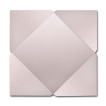 Gruppo Cordenons Stardream Coral 7 1/4 Square 105# Cover Pointed Flap Pouchettes