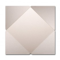 Gruppo Cordenons Stardream Quartz 7 1/4 Square 105# Cover Pointed Flap Pouchettes