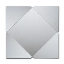 Gruppo Cordenons Stardream Silver 7 1/4 Square 105# Cover Pointed Flap Pouchettes