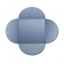 Gruppo Cordenons Stardream Vista 6 1/4 Square 105# Cover Rounded Flap Pouchettes
