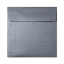 "Curious Metallics Ionised 7 1/2"" Square 80# Text Envelopes Bulk Pack of 250"