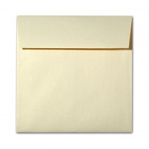 "Reich Shine Gold 7 1/2"" Square 80# Text Envelopes Bulk Pack of 250"