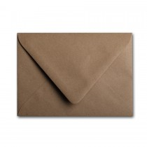 A6 Euro Flap 70# Text Brown Bag Kraft Envelopes Pack of 50