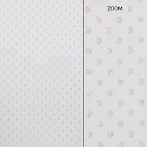 Elegant Glitter Cardtock White Dot 12 x 12 81# Cover Sheets