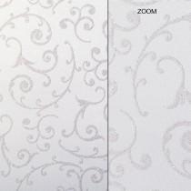 Elegant Glitter Cardtock White Swirl 12 x 12 81# Cover Sheets