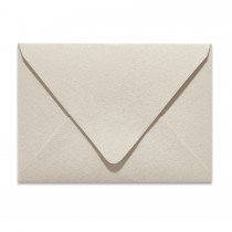 Ungummed Escort/Enclosure Euro Flap 80# Text Arturo Stone Grey Envelopes Pack of 50