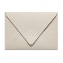 Ungummed Escort/Enclosure Euro Flap 80# Text Arturo Stone Grey Envelopes Pack of 50