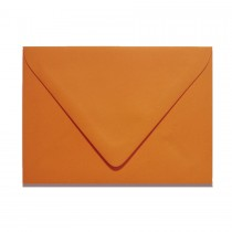 A7 Inner Ungummed Euro Flap Colorplan Mandarin Envelopes Pack of 50