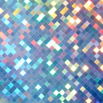 8 1/2 x 11  Cover Mirri Holographic Checkers Bulk Pack of 100