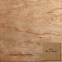 "Wood! Cherry 12"" x 12"" 12pt Text Sheets"