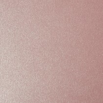 """12 1/2"""" X 19"""" 111# Cover Sirio Pearl Misty Rose Sheets Bulk Pack of 100"""