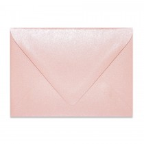 4 Bar Euro Flap 84# Text Sirio Pearl Misty Rose Envelopes Pack of 50