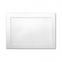 Neenah Classic Crest Whitestone 4 Bar Panel Card