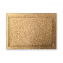 Stardream Antique Gold Escort/Enclosure Triple Panel Card