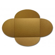 Gruppo Cordenons Stardream Antique Gold A8 105# Cover Rounded Flap Pouchettes