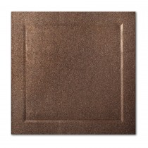 Gruppo Cordenons Stardream Bronze 6 1/4 Square Bevel Panel Card
