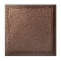 Gruppo Cordenons Stardream Bronze 7 1/4 Square Imperial Embossed Border Card