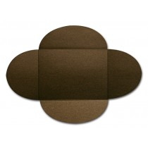 Gruppo Cordenons Stardream Bronze A8 105# Cover Rounded Flap Pouchettes