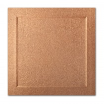 Gruppo Cordenons Stardream Copper 6 1/4 Square Bevel Panel Card