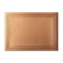 Gruppo Cordenons Stardream Copper A2 Imperial Embossed Border Card