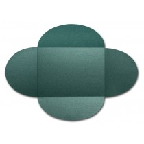 Gruppo Cordenons Stardream Emerald A8 105# Cover Rounded Flap Pouchettes