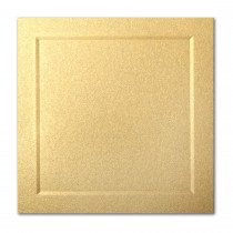 Gruppo Cordenons Stardream Gold 6 1/4 Square Bevel Panel Card
