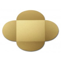 Gruppo Cordenons Stardream Gold A8 105# Cover Rounded Flap Pouchettes