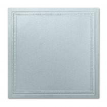 Gruppo Cordenons Stardream Aquamarine 7 1/4 Square Imperial Embossed Border Card
