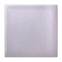 Gruppo Cordenons Stardream Kunzite 7 1/4 Square Imperial Embossed Border Card