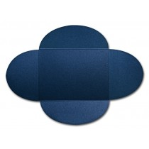 Gruppo Cordenons Stardream Lapis Lazuli A7 105# Cover Rounded Flap Pouchettes